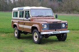 Restored 1983 LAND ROVER One Ten V8 110 CSW (pre-Defender)