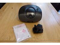 Goodmans GPSBT01 CD Boombox With AM/FM Radio & Bluetooth - NEW