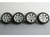 "4X BMW 3 SERIES 18"" ALLOYS WITH TYRES"