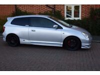 2002 HONDA CIVIC TYPE-R EP3 RACE TRACK READY WITH LONG MOT LOGBOOK FSH SPOON EXH RACE ENGINE MOUNTS