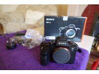Sony A7RII Full Frame Digital Camera ('DSLR') in Mint Condition