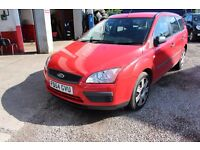 Ford Focus 1.6 115 LX ESTATE MOT MARCH 2018 IN RED
