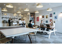 OFFICE DESK AVAILABLE ON FLEXIBLE LEASE AGREEMENT FOR RENT NOW IN SOUTH BANK-LONDON