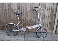 1980 Vintage Bickerton Lightweight Folding Bike Garaged Stored 30 Years ! ** Restoration Project **