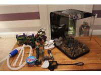 Biorb Flow 30 litre - Black with heater and many accessories