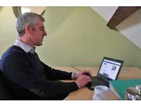 Hot-Desking in Shared Office with Onsite Café