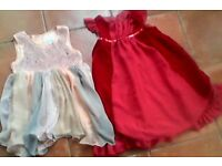 Girl's x 2 Dresses aged 7 years BARGAIN