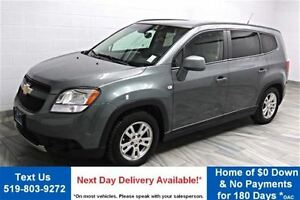 2012 Chevrolet Orlando LT BLUETOOTH! POWER PACKAGE! CRUISE CONTR