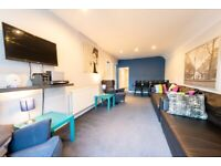 All bills included Weekly or monthly let immaculate huge 2 bedroom garden flat close to the meadows