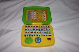 Childs Mini Laptop Toy