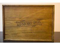 Beautiful memory box NEW