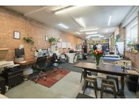 Creative studios & workshop in heart of East London * Available immediately * Bills included *