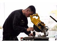 Modular Buildings Factory Worker