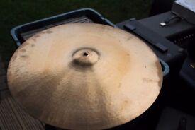 "Paiste 2002 20"" ride cymbal - Swiss - Vintage black hollow logo"
