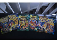 """6 BeastQuest books series 10 with collectors cards """"Master of the beasts"""". As new, smoke free. £9"""