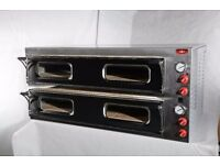 """48h Delivery 12x13"""" twin double deck electric pizza oven stone commercial 1 or 3 phase FREE DELIVERY"""