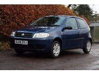 ** FULL YEARS MOT ** 2004 Fiat Punto 1.2 Active 8V Blue