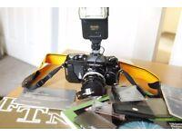 Nikkormat FTn film camera original manuals w/ Nikkor H C auto 50mm f/2 sn#2154820
