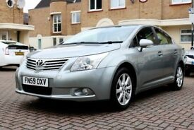 TOYOTA AVENSIS 1.8 V-MATIC TR AUTOMATIC 4DR SALOON FSH HPI CLEAR 3 KEYS EXCELLENT CONDITION