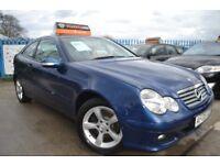 2006 06 Mercedes 1.8 C180 Kompressor - 91k Miles with Lots of S/H - Full MOT-2 Keys- Free Warranty!!