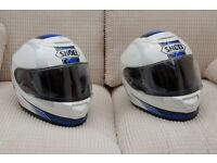 Matching Shoei helmets