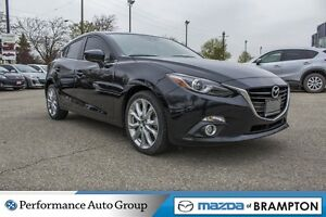 2015 Mazda MAZDA3 SPORT GT|NAVI|MOONROOF|REAR CAM|HTD SEATS|BLUE