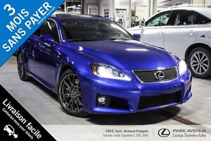 2014 Lexus IS F Série 2 **Rare, condition showroom**