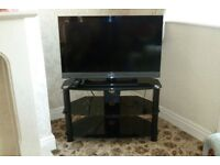 Sony Bravia TV and stand