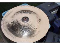 "AA Meinl Billy Cobham Tri-Tonal 22"" China cymbal - Vintage - '90s - W/rivets"