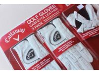 Callaway Golf Gloves, Cabretta Leather