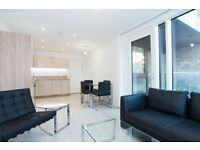 MODERN DESIGNER FURNISHED 1 BEDROOM APARTMENT - OSLO TOWER GREENLAND PLACE SURREY QUAYS CANADA WATER