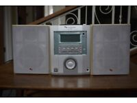 Schneider HiFi system, integrated amp, cd and tuner and 2 speakers