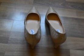 NEW L K Bennett ivory heeled shoes, UK 5