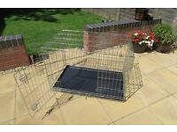Pets at Home Double Door Dog Training Crate Size 61.5 x 57.5 x 91.5cm