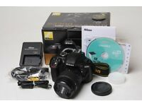 nikon d3300 with extras as new