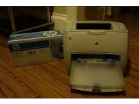 HP Laserjet 1200 with spare cartridge