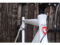 SUPER NICE Aluminium Alloy Frame Single speed road TRACK bike fixed gear racing fixie bicycle a5gd