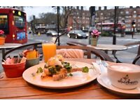 Full Time Barista and Waiting Staff is needed at Silverberry, Hampstead