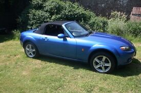 Mazda MX-5 MX5 1.8 2dr 88k Just fully serviced & MOTd. Very clean and tidy car with zero defects