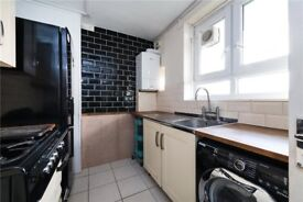 modern 1 bed , light and bright with private balcony. fully furnished. short walk to train station