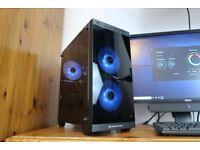 Custom RGB Gaming PC - Intel i7 2600 / EVGA GTX 950 / Corsair 8GB / WiFi / TG