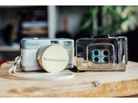 LOMOGRAPHY CAMERAS - Lomography Fisheye (170-Degree Lens) & Chrome Lomography 4-lens 35mm Camera