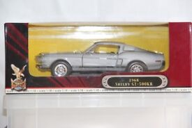 1968 SELBY GT-500KR DIE CAST MODEL IN 1: 18 SCALE, ROAD SIGNATURE 92168