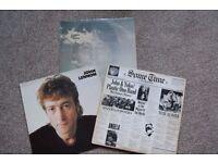 """3 x JOHN LENNON 12"""" VINYL ALBUMS - SOMETIME IN NEW YORK CITY / IMAGINE / COLLECTION"""