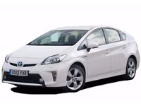 PCO CAR HIRE £100 PER WEEK TOYOTA PRIUS READY FOR UBER ,PCO CAR