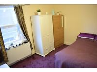 Double room in 3 bedroom flat. Shared with 2 people. Available 16/06