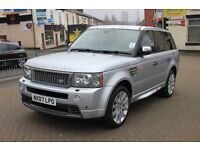 Ranger Rover Sport HSE 2.7 TDV6 2007 Silver , LOW MILEAGE