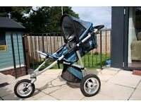 Quinny Speedi SX and carrycot plus accessories