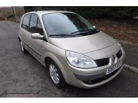 RENAULT SCENIC DYNAMIQUE 1.6 VVT ** 07 PLATE ** 35,000 MILES FROM NEW **