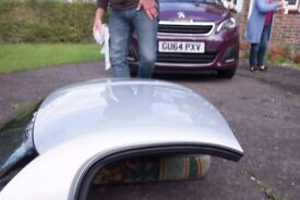 Silver MR2 hard top with fitting kit
